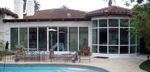 patio room built on a residential home in santa monica ca