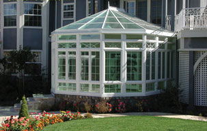 victorian conservatory in sunroom san jose ca