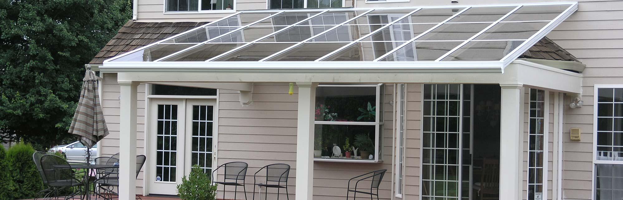 patio cover for a backyard patio