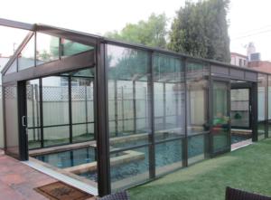 Sunroom for Hot Tub Spa