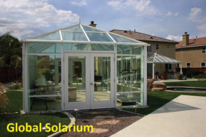 Glass Sunroom Atrium