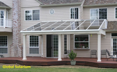 Glass Patio Awning Global Solariums
