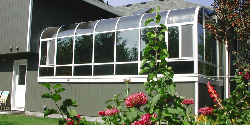 Greenhouse Sunroom Addition