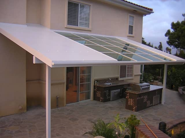 Outdoor kitchen awning cover alahambra global solariums