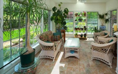 Designing the inside layout of your sunroom